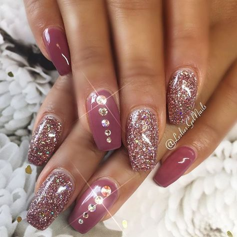 30 Glitter Nail Art Designs 2018 Beautybigbang