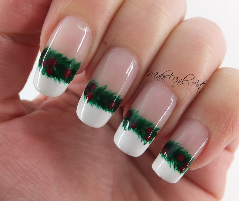 Hottest 50+ Christmas Nail Ideas for 2017 | BeautyBigBang