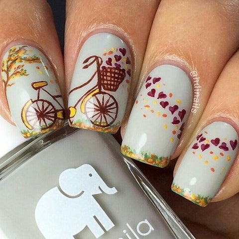 nail sticker design