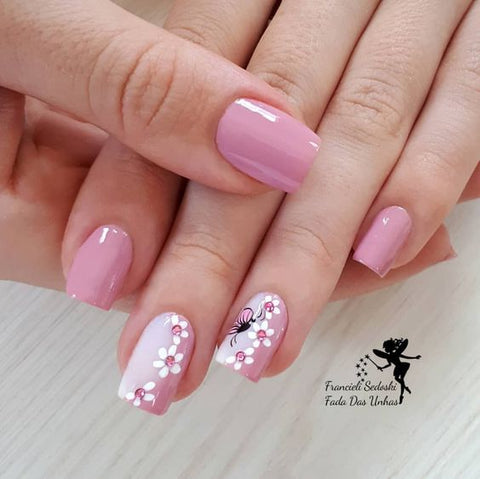 30 Cute Pink Nail Art Designs 2018 Beautybigbang