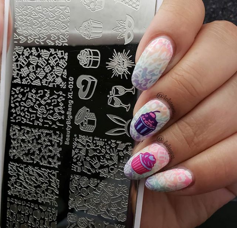 28 Hottest Stamping Nail Art Designs 2018 Beautybigbang