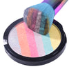 Rainbow Highlighter Powder Palette Shimmer Bronzer Contour Face Highlighter