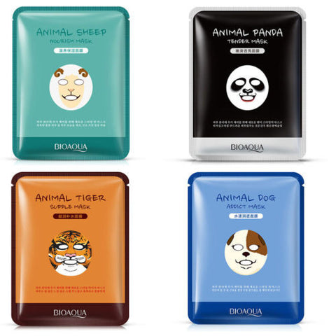 Animal Face Mask Nourishing Smoothing Moisturizing Whitening Masks