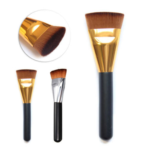 Flat Contour Makeup Brush Powder Foundation Cosmetic Brush