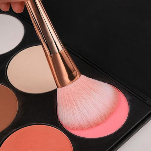 7Pcs Blusher Makeup Brushes Eyeshadow Cosmetic Brush Set