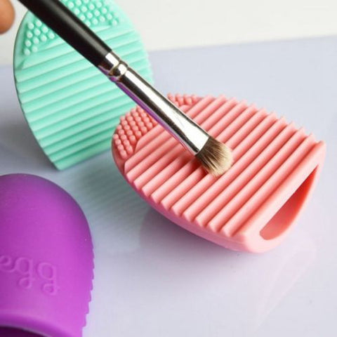 New Cleaners Egg Cleaning  MakeUp Washing Brush Scrubber Board Brushegg
