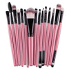 15Pcs Makeup Brushes Lip Blush Eyeshadow Brush Powder Cosmetic Brush Set