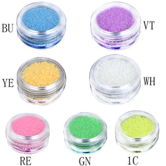 Luminous Nail Glitter Glow In Dark Nail Decoration