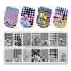 Chrysanthemum Theme Rectangle Nail Stamping Plate Sunflower Design Nail Art Tool BBBXL-024