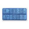 Whirlpool Flower Theme Rectangle Nail Stamping Plate Rind Design Nail Art Tool BBBXL-039