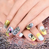 6Pcs Flower Love Design Rectangle Nail Stamping Plates Nail Art Tool BBBXL-047/048/049/050/051/052