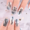 6Pcs Starry Geometry Theme Rectangle Nail Stamping Plates Nail Art Tool BBBXL-053/054/055/056/057/058