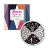 Starry Sky Theme Star Moon Design Circle Nail Art Stamping Plate BBB-015