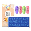 Flower Animal Pattern Nail Stamping Plate BBBXL-087