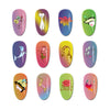 Flower Girl Animal Pattern Nail Stamp BBBS-036
