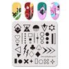 Geometric Patterns Nail Stamping Plates BBBS-037