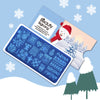 Christmas Theme Pattern Rectangle Nail Stamping Plate BBBXL-093