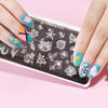 Flowers Leaves Butterfly Pattern Nail Stamping Plates BBBXL-098