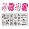 Valentine's Day Themed Nail Printed Steel Plate BEAUTYBIGBANG BBBXL-104