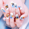 Character Image Rectangle Nail Art Stencil Stamp Phrase Template BeautyBigBang  BBBXL-001