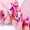Animal Brird Geometric Silhouette Nail Plate Striped Line Templates Stainless Steel Stencil Tools BeautyBigBang BBBXL-001