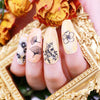 Butterfly Nature Flower Bird Range Templates DIY Image Manicure Plate Set BeautyBigBang BBBXL-003