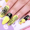 Flowers Rose Pattern Nail Art Image Design Tools Stamp Template Stencil BeautyBigBang BBBS-040