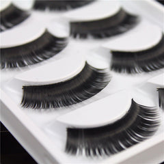 5Pairs Nautral Handmade False Eyelashes Long Eye Lashes