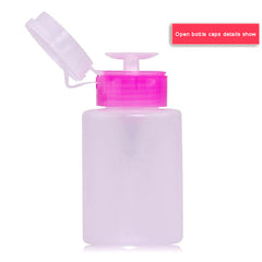 Pump Nail Art  Remover Bottle Liquid Container Bottle Nail Tool