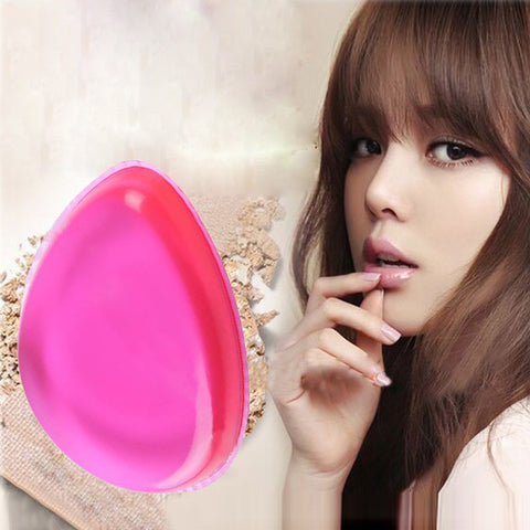 Silicone Drop Makeup Sponge Puff Foundation Puff