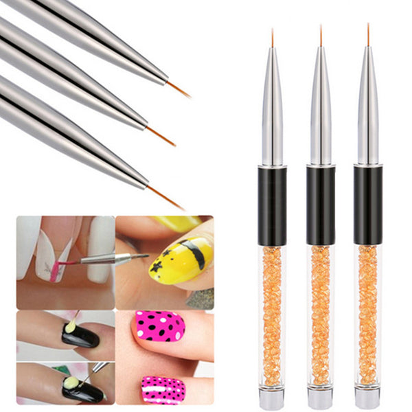 UV Gel Nail Brush Painting Line Design Brush for Manicure Nail Tool