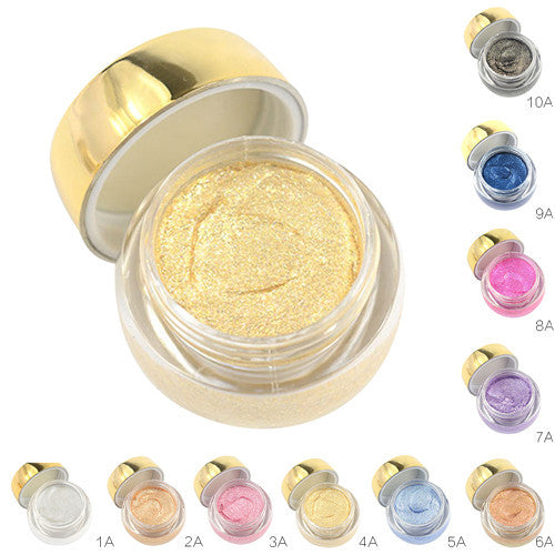 1PC Glitter Gel Eyeshadow Cream Makeup Cosmetic Pigment Eyeshadow
