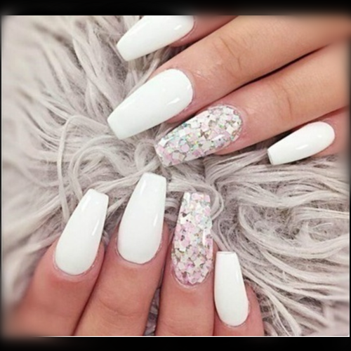 Ballerina Fake Nails Coffin Nail Tips Beautybigbang