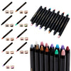 Waterproof Shimmer Glitter Single Color Makeup Eyeshadow Pencil