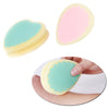 Painless Heart & Drop Shaped Depilation Sponge Pad Remove Hair Remover