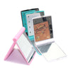 Portable Folding Pocket Mirror With LED Lamps For Makeup