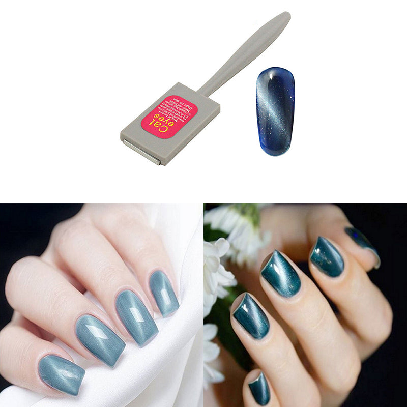 Nail Magnet Magnetic Stick For Cat Eye Gel Polish UV LED Nail Art ...