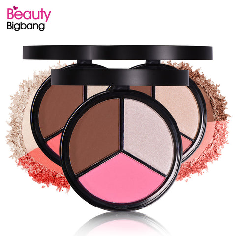 Bronzer Blush Highlighter Palette for Face Makeup