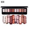 10 Colors Matte and Shimmer Eyeshadow Palette Eye Makeup Set