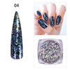 0.2g Aurora Irregular Flakies Powder Chameleon Nail Glitter Sequins For Manicure