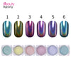 0.2g Holographic Mermaid Nail Laser Shell Glitter Pigment Powder Dust For Manicure