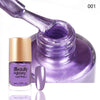 9ML Light Purple Metallic Lacquer Nail Polish Mirror Effect Nail Varnish 001