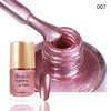 9ML Light Pink Metallic Lacquer Nail Polish Mirror Effect Nail Varnish 007