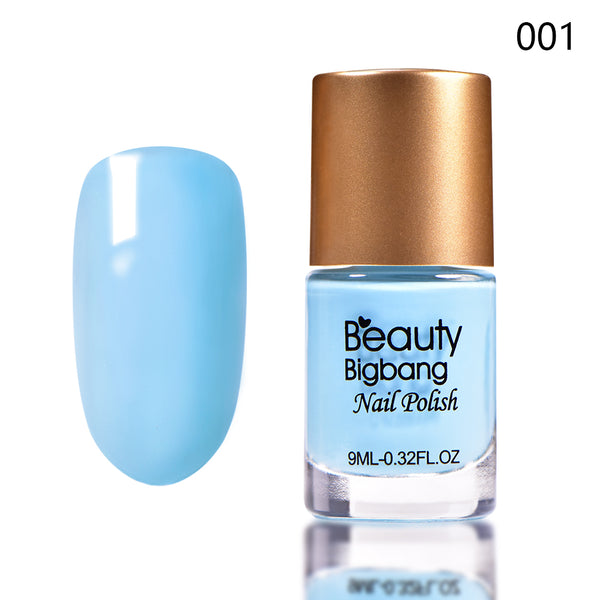9ML Blue Long Lasting Quick Dry Enamel Design Nail Polish