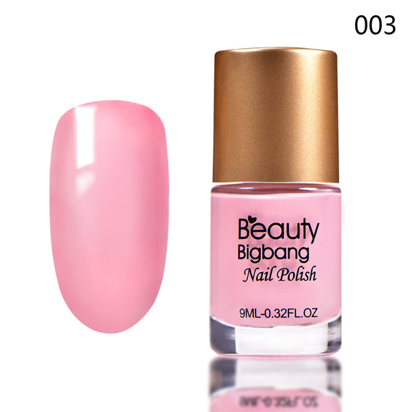 9ML Pink Long Lasting Quick Dry Enamel Design Nail Polish