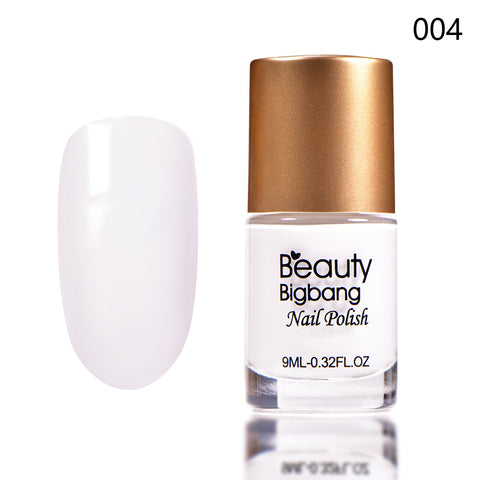 9ML White Long Lasting Quick Dry Enamel Design Nail Polish