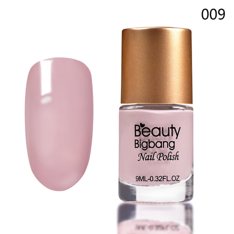 9ML Light Pink Long Lasting Quick Dry Enamel Design Nail Polish