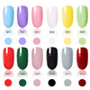 9ML Red Long Lasting Quick Dry Enamel Design Nail Polish