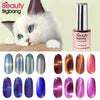 6ML Magnetic Cat-Eye Gel Polish Chameleon UV Gel Polish Gel Varnish Lacquer Soak Off Magnetic Stick 01-10