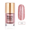 9ML Light Pink Crystal Diamond Glitter Nail Polish For Manicure Nail Art Decoration 010